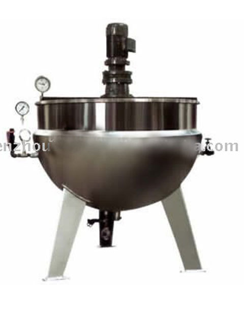 KQG Steam Heating Jacketed Pot