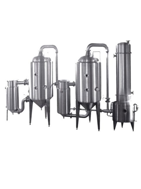 Dual-effect energy-saving concentrator-Distiller